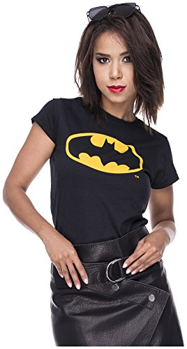 Das Ultimative Batman Kostüm - Loomiloo Tshirt Batman Damen Shirt Symbol