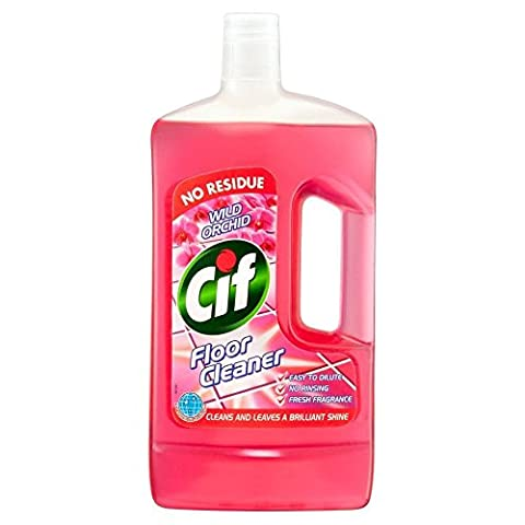 Cif Wild Orchid Floor Cleaner & All Purpose Cleaner (1L) - Paquet de 2