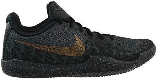ge Basketballschuhe, Mehrfarbig (Black/Metallic Gold/Anthracite/Dark Grey 099), 42.5 EU ()
