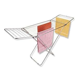 roller fl gel w schest nder metall 18 m trockenl nge k che haushalt. Black Bedroom Furniture Sets. Home Design Ideas