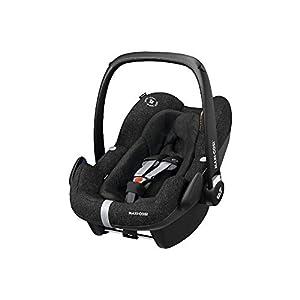 Maxi-Cosi Pebble Plus Baby Car Seat Group 0+, ISOFIX Car Seat, i-Size, 0-12 m, 0-13 kg, 45-75 cm, Nomad Black   6