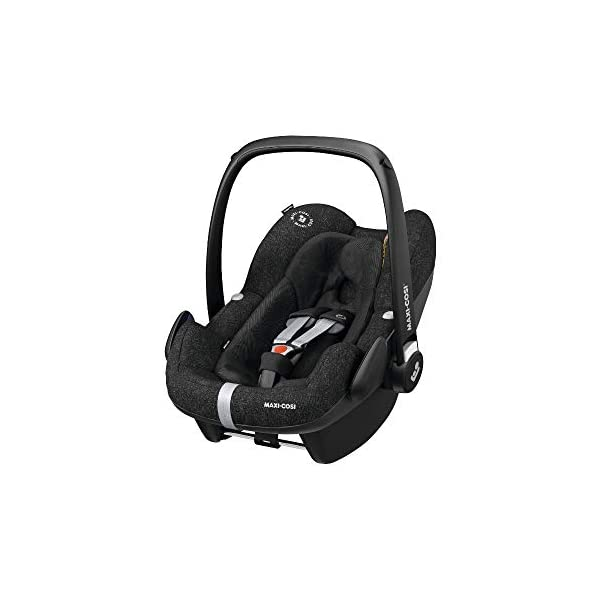 Maxi-Cosi Pebble Plus Baby Car Seat Group 0+, ISOFIX Car Seat, i-Size, 0-12 m, 0-13 kg, 45-75 cm, Nomad Black Maxi-Cosi Baby car seat, suitable from birth to approximate 1 year (0-13 kg, 45-75 cm) Fits with compatible Maxi-Cosi base unit for ISOFIX installation i-Size for enhanced safety and optimal protection against side impacts 1