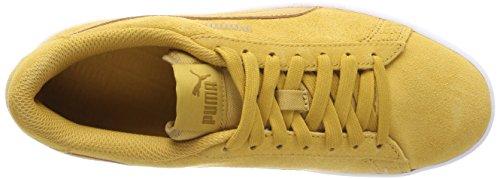 Puma Smash V2, Scarpe da Ginnastica Basse Unisex – Adulto Giallo (Honey Mustard-honey Mustard)