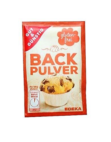 Gut & Günstig Backpulver 10 x 15g Glutenfrei