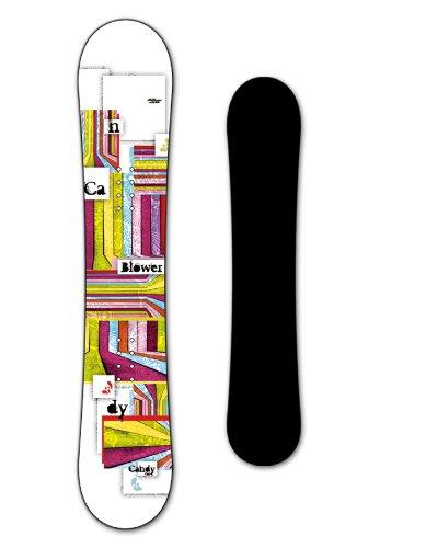 BLOWER Damen Snowboard CANDY girl 141cm white 2013/14 (Cm Snowboard 141)