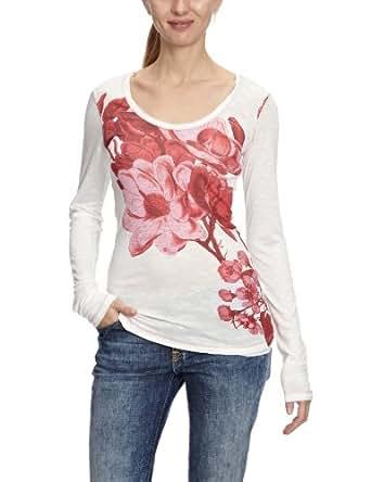 Desigual Lara Patterned Women's T-Shirt Hielo 10
