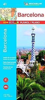 Plan Barcelone Michelin