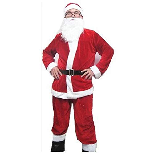NJFJ Weihnachtsmann-Kostüm Weihnachtskleidung, Herren Und Damen Kostüme, Kostüme, Herren Sechs Stück, Uniform-Code