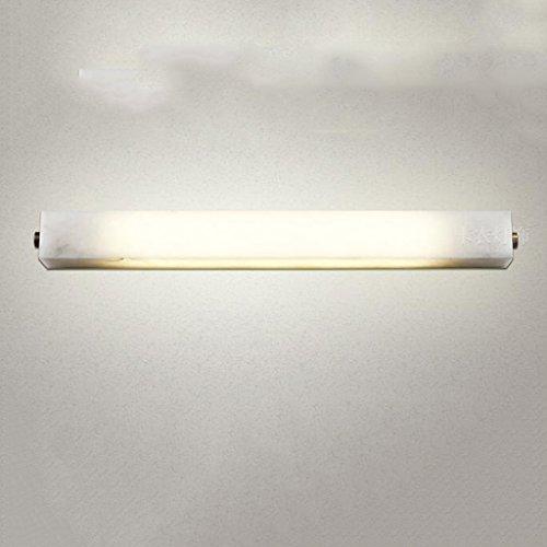 Européenne rétro miroir de faux marbre salle de bains lumière lumière miroir salle de bain rouille étanche lumière