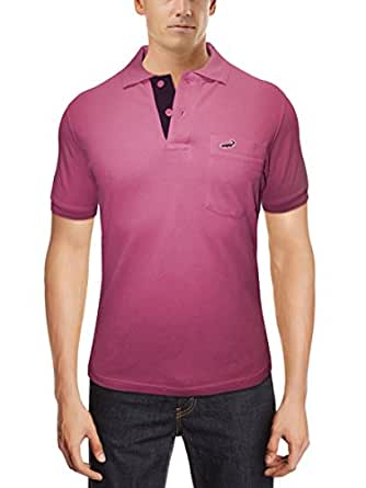 Crocodile Mens T-Shirt-Light Pink-Small