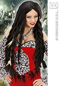 ribbean Pirate Voodoo Wig for Fancy Dress Costumes & Outfits Accessory (Pirate Fancy Dress Womens)