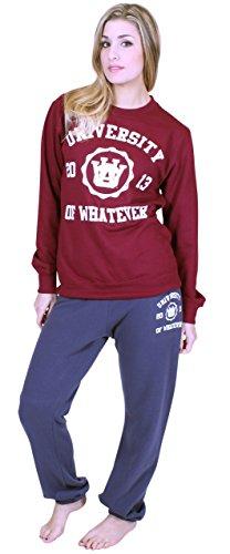 University of Whatever - Pantalon de sport - Femme - Unestablished Bleu