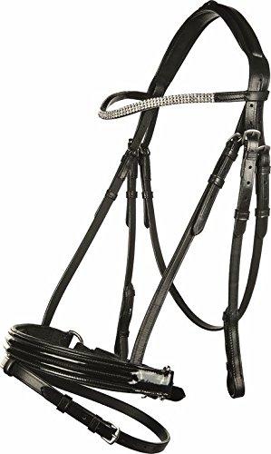HKM Reittrense -Linette-, schwarz, Pony