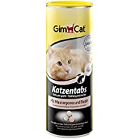 GimCat Katzentabs mit Biotin - Köstlicher Katzensnack für glänzendes Fell und geschmeidige Haut