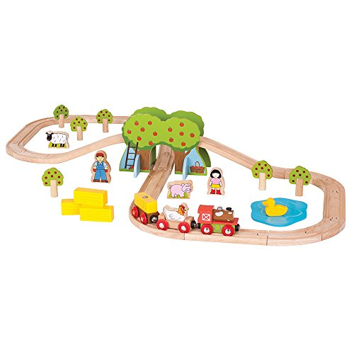 Bigjigs Rail Circuit de Train Ferme