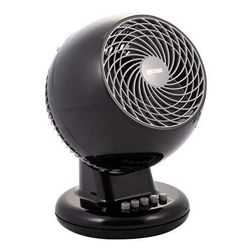 Iris Ohyama, Ventilateur Silencieux, Oscillant et Puissant - Woozoo - PCF-M15, noir, 32 W, 13 m²