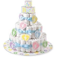 Kit per torte Wilton Diaper cake, altri, multicolore.