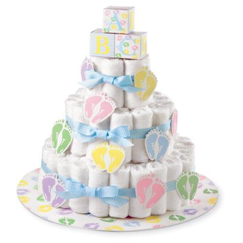 Wilton Kit per Torte Diaper Cake, Altri, Multicolore.