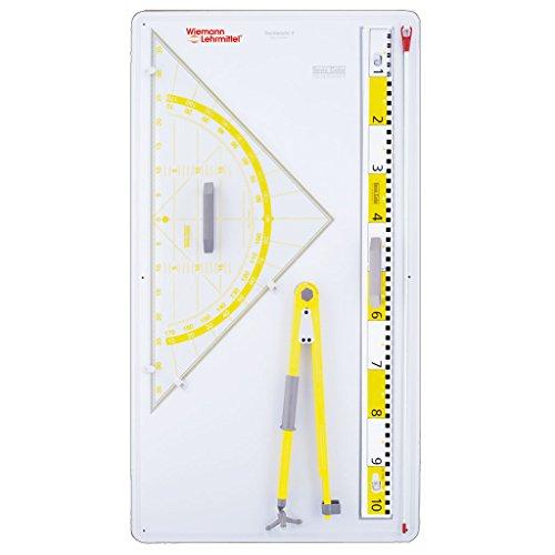 Geräten - Geometrie für die Tafel (Kunststoff-platten Aufgeteilt)