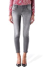 Diesel Femme Pantalons Jeans Skinny Grupee-Ancle Super Slim 0672J