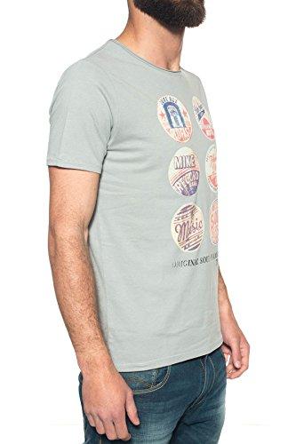 M C S Herren T-Shirt grau grau Grau
