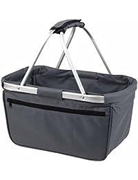 HALFAR - sac panier pliable - shopping courses provisions - 1803939 - gris