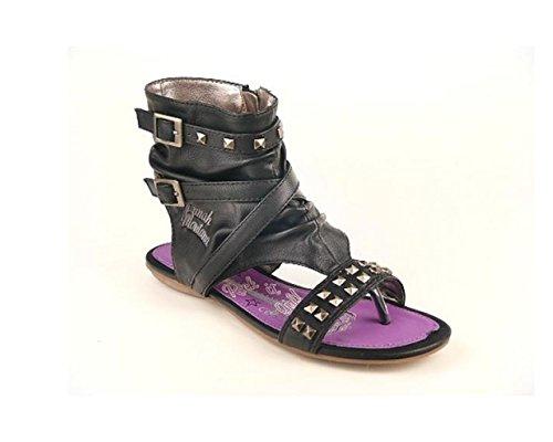 hannah-montana-sandalias-de-vestir-para-nina-color-negro-talla-34