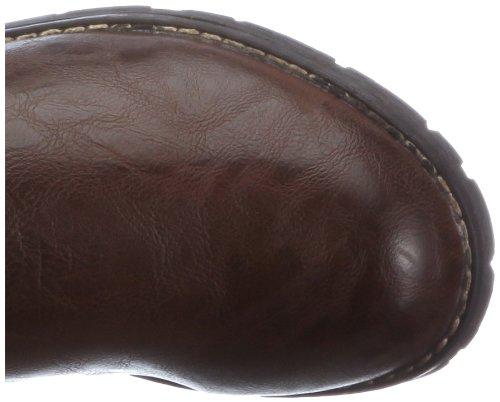 Jenny Ohio 68306-66, Stivali donna Marrone (Braun/moro,bianco)
