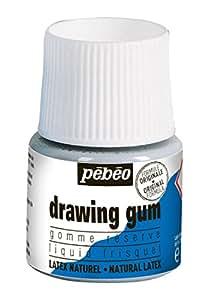 Pebeo Extra Fine Drawing Gum/Masking Fluid - 45 ml Bottle