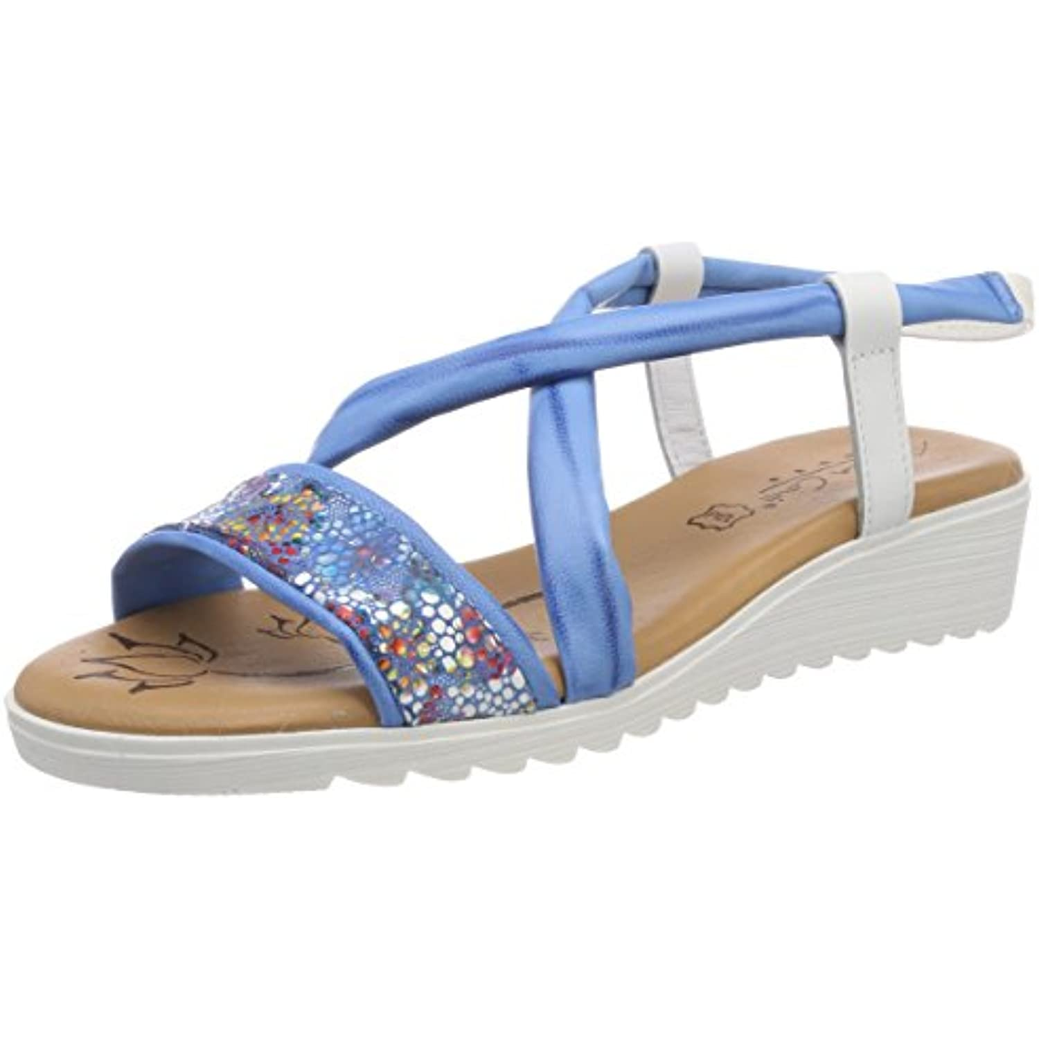 Andrea Conti 0145708, - Bout Ouvert Femme - B074RKSYW5 - 0145708, 76a81d
