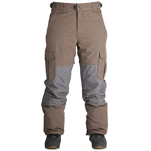 Ride Herren Hose Phinney Shell Pants, Herren, Brown Melange, X-Large - Shell Pant