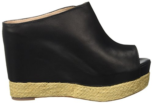 Jeffrey Campbell Virgo Leather, Sandali con Tacco Donna Nero