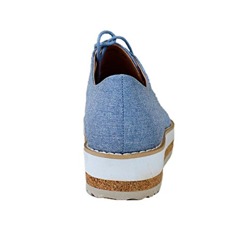 Buonarotti, Scarpe stringate donna Jeans