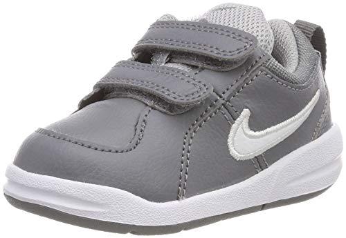 Nike Pico 4 (TDV), Scarpe da Tennis Unisex-Bambini, Grigio (Cool White-Wolf Grey 022), 25 EU