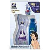 Parachute Advanced Deep Nourish Body Lotion, 250ml With Free Advanced Coconut Hair Oil, 175ml