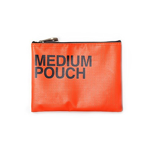 m tragen Top Zip Tasche Einheitsgröße orange ()