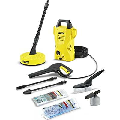 Advanced Karcher K2 Compact Car & Home Pressure Washer with Patio Cleaner 110 Bar 1400w 240v [Pack of 1] -- by Karcher Manufacturing UK