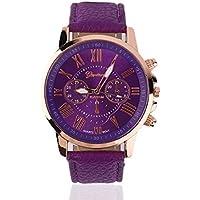 Swiftswan Montre-bracelet à quartz montre hommes montre chiffres PU cuir alliage montre à quartz design à la mode... preisvergleich bei billige-tabletten.eu