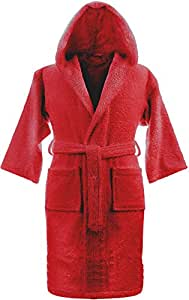 The Bath Boutique Maroon Standard Bath Robe (BBR00008)