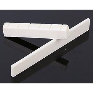 Selletta per ponte in osso e capotasto, ricambi per chitarra classica a 6 corde, pezzi per chitarra classica