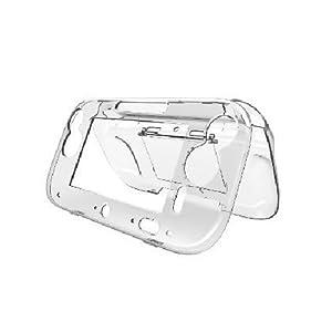 OSTENT Schützende Clear Crystal Hard Case Hülle Shell kompatibel für Nintendo Wii U Gamepad