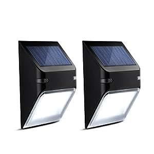 Luci esterni impermeabili mpow lampada solare wireless ad for Luci per esterno