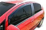 J&J AUTOMOTIVE | Deflecteurs d'air déflecteurs de Vent Compatible avec Fiat Punto Grande 2006-prés 2 pièces