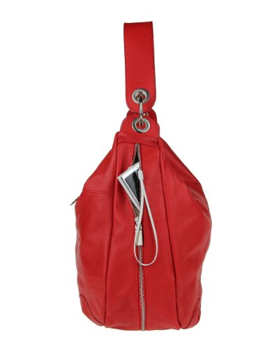 Made Italy, Borsa tote donna 45x33x14 cm (BxHxT) Rosso