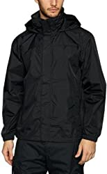 Zacharias Mens Wind Cheater (zach-Boy-wind-cheater-XL_Black_X-Large)