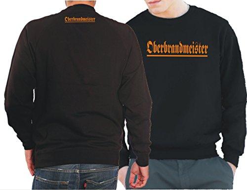 """'Felpa Black, """"Brand Meister invece esterno sapete già...-Das Original, Black, L"""