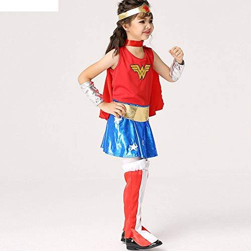 Kostüm Göttin Göttliche - AIYA Halloween Kostüme Performance Kostüme Kinderanzug Cosplay göttliche Superfrau Kinderbekleidung