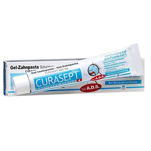 Curaprox Curasept ADS 705 Gel-Zahnpasta, 1er Pack (1 x 75 ml)