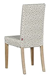 Dekoria Ikea Harry chair cover - pink flowers on white