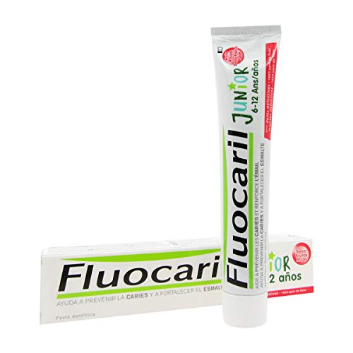Fluocaril Junior 6 To 12 Toothpaste Red Fruits 50ml